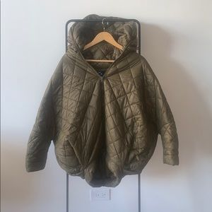 Urban Outfitters Quilted Cocoon Puffer